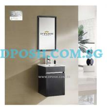 3001B-41-Stainless Steel Basin Cabinet with Mirror ( Black )