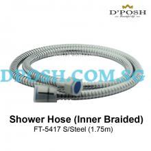 Fidelis-FT-5417  S/Steel Shower Hose ( INNER BRAIDED ) ( 1.75M )